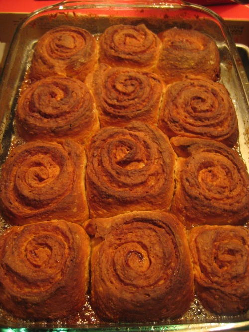 Sticky Buns with Toasted Almonds 011